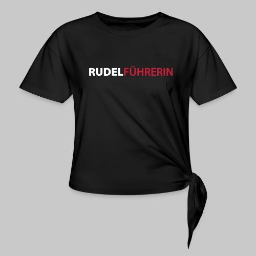 Rudelführerin - Knotenshirt