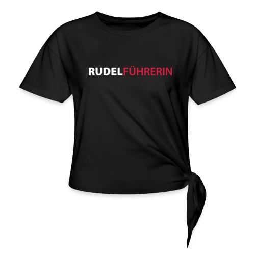 Vorschau: Rudelführerin - Frauen Knotenshirt
