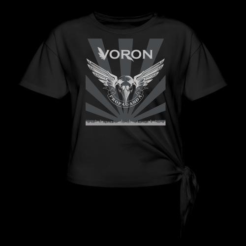 Voron - Propaganda - T-shirt à nœud Femme