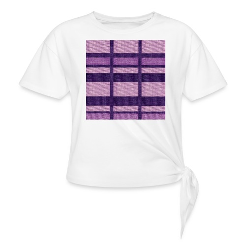 puplecolor tank top - Women's Knotted T-Shirt