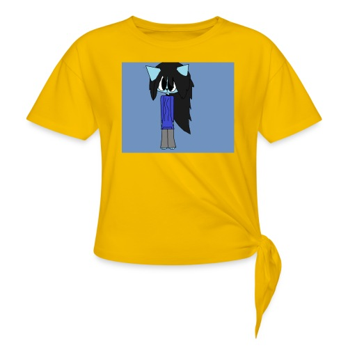 my cartoon self - Knotted T-Shirt