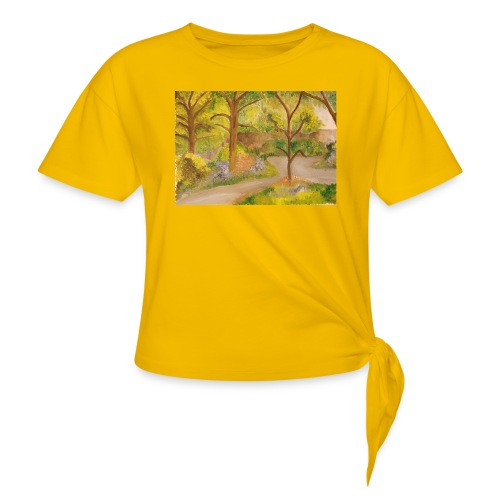 pat 1 - Knotted T-Shirt