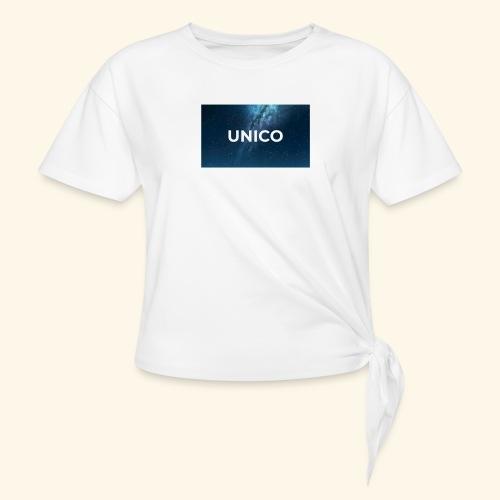 copertina canzone-unico - Maglietta annodata da donna