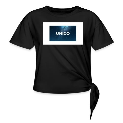 copertina canzone-unico - Maglietta annodata