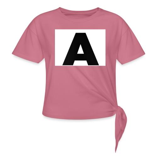 A-685FC343 4709 4F14 B1B0 D5C988344C3B - Dame knot-shirt