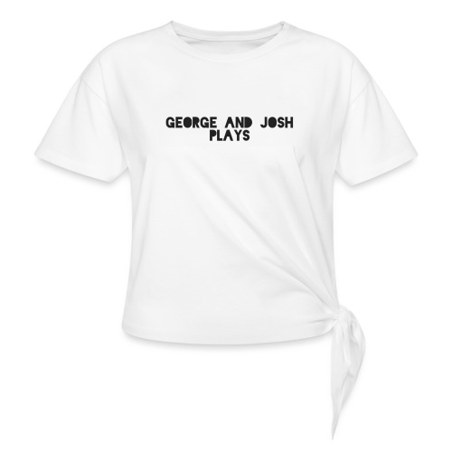 George-and-Josh-Plays-Merch - Knotted T-Shirt