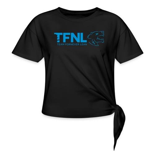 TFNL Blue Logo Tee - Knotted T-Shirt