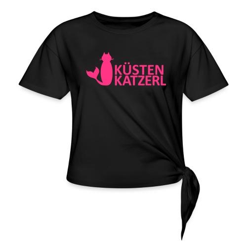 Küstenkatzerl - Frauen Knotenshirt