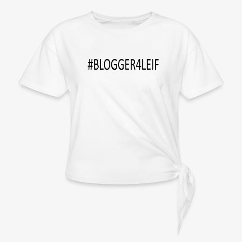 #Blogger4leif - Dame knot-shirt