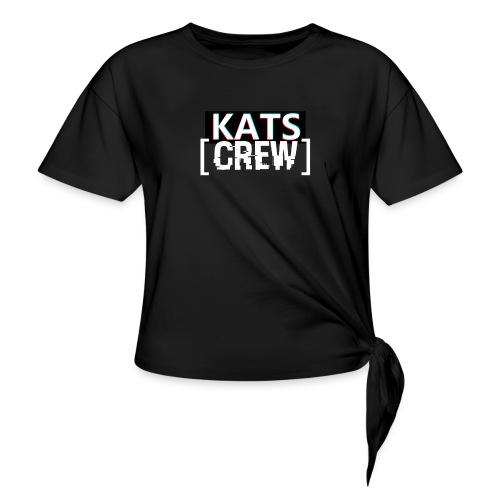 KATS CREW Logo - Koszulka damska z wiązaniem
