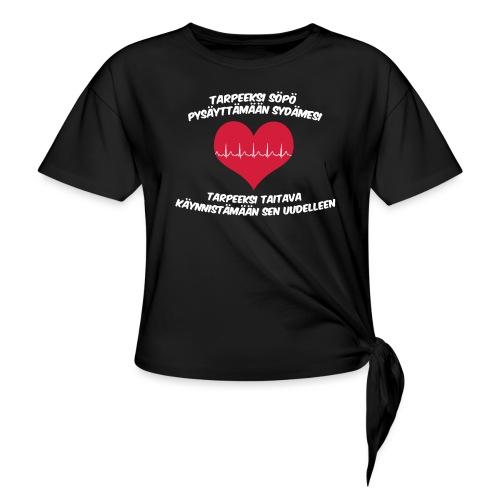 Tarpeeksi söpö pysäyttääkseen sydämesi - Naisten solmupaita