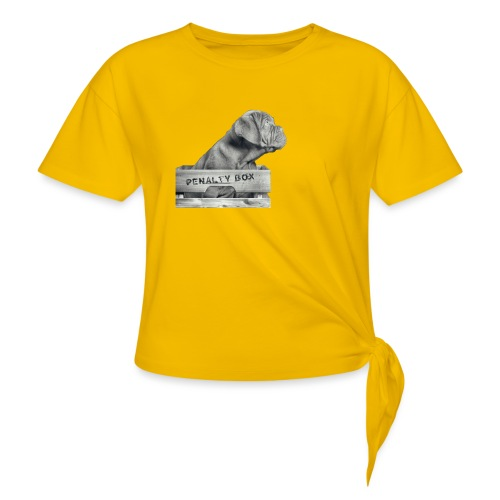 Penalty Box - Dame knot-shirt