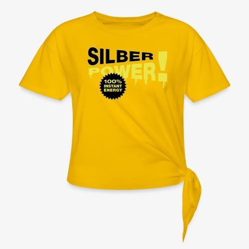 SilberPower! - Dame knot-shirt
