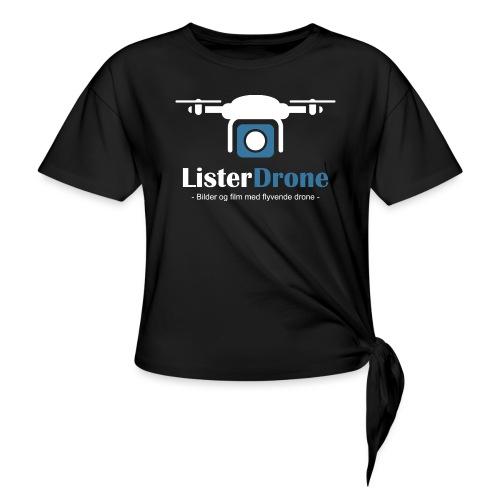 ListerDrone logo - Knute-T-skjorte for kvinner