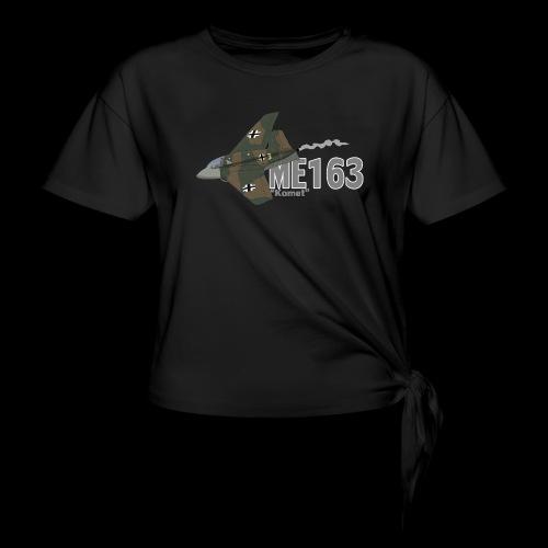 Me 163 Komet (Writing) - Maglietta annodata