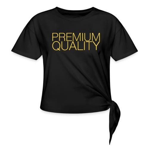 Premium quality - T-shirt à nœud