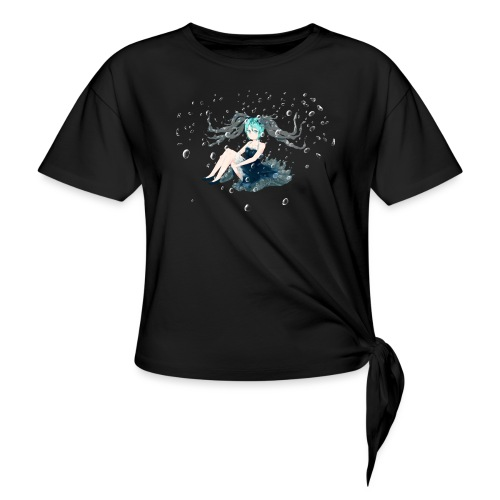 Water Miku O.C. - Maglietta annodata da donna