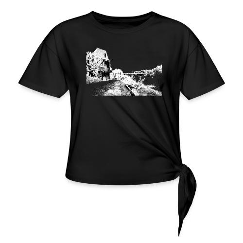 J'aime Mouleydier - Pont F - T-shirt à nœud