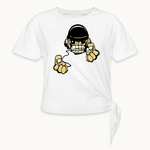 Micky DJ - T-shirt à nœud