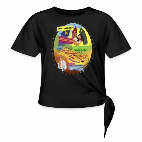 Les Cloches - Guillaume Appollinaire - T-shirt à nœud Femme