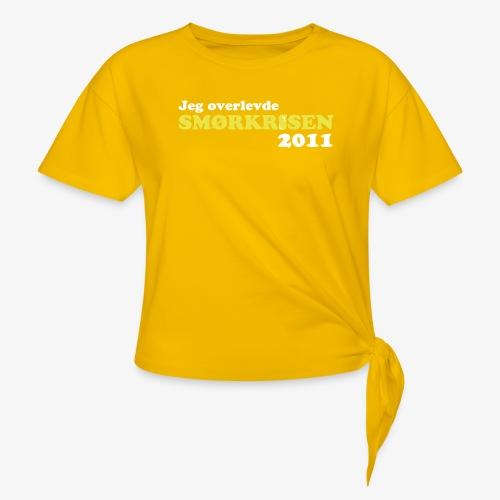 Smørkrise 2011 - Norsk - Knute-T-skjorte