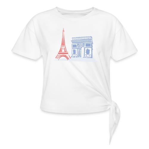 Paris - T-shirt à nœud Femme