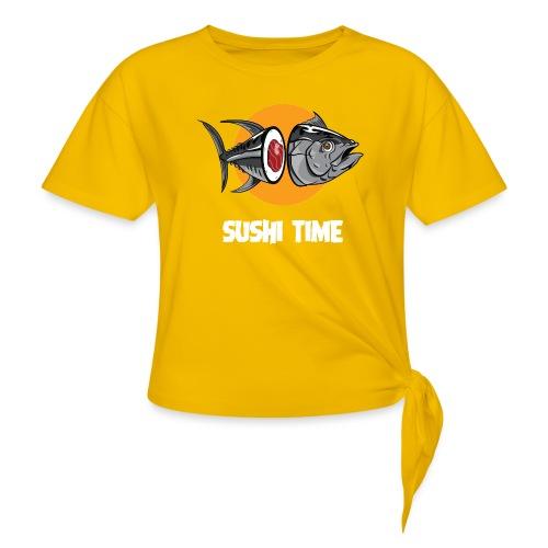 SUSHI TIME-tonno-b - Maglietta annodata da donna