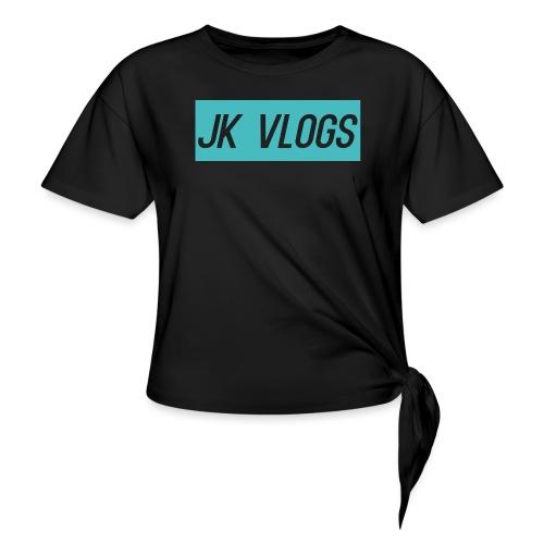 JK Vlogs Logo 2 - Knotted T-Shirt