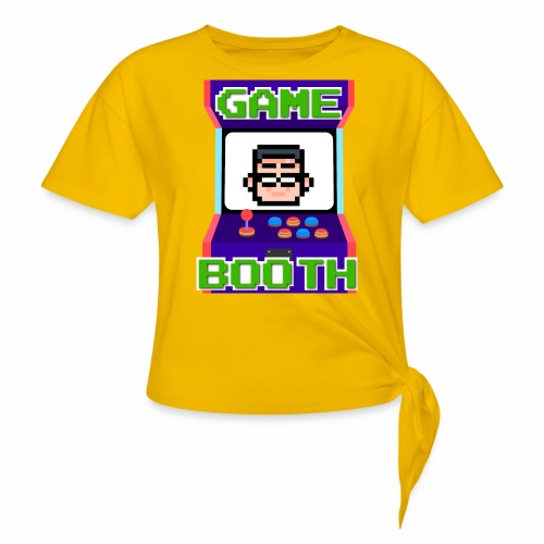 GameBooth Icon Logo - Knotted T-Shirt