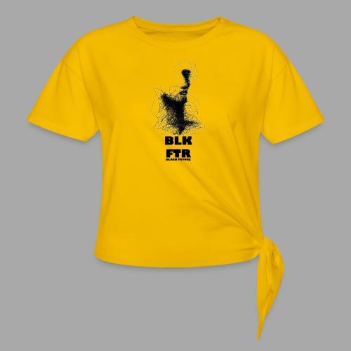 BLK FTR N°5 - Maglietta annodata da donna