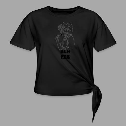 BLK FTR N°6 - Maglietta annodata