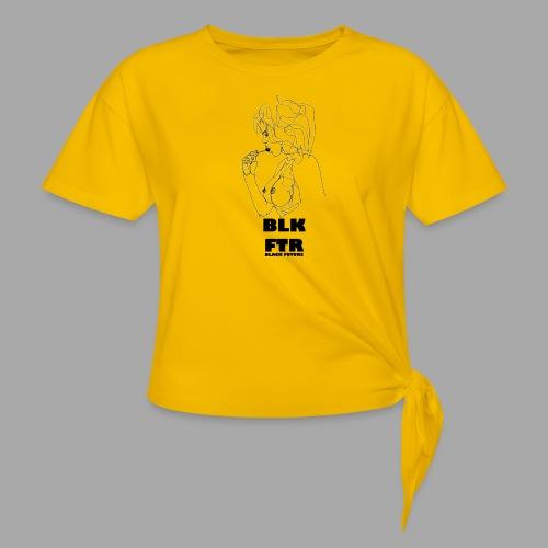 BLK FTR N°6 - Maglietta annodata da donna