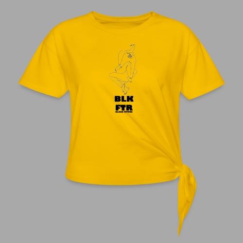 BLK FTR N°7 - Maglietta annodata da donna