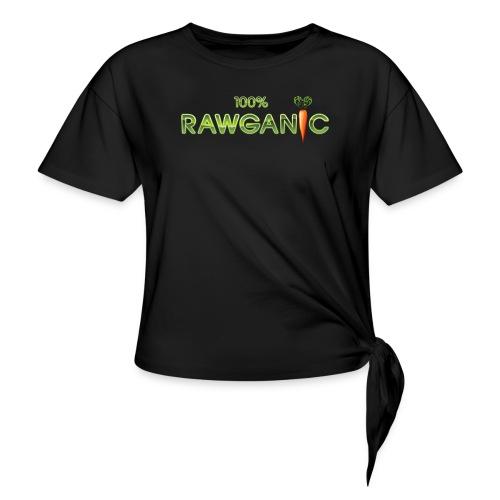 100% Rawganic Rohkost Möhre - Knotenshirt
