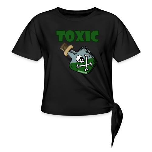 Toxic Gaming - Frauen Knotenshirt