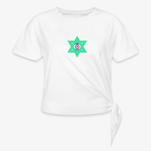 Star eye - Knotted T-Shirt