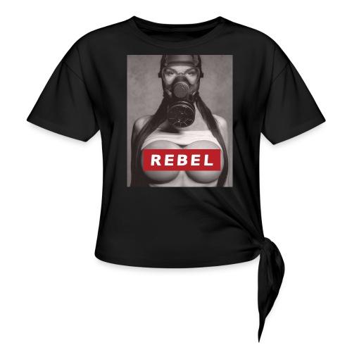 postapocalyptic rebel - Frauen Knotenshirt