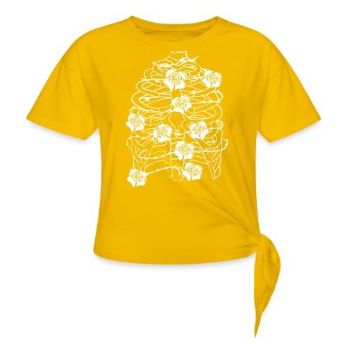 Inhale - Frauen Knotenshirt