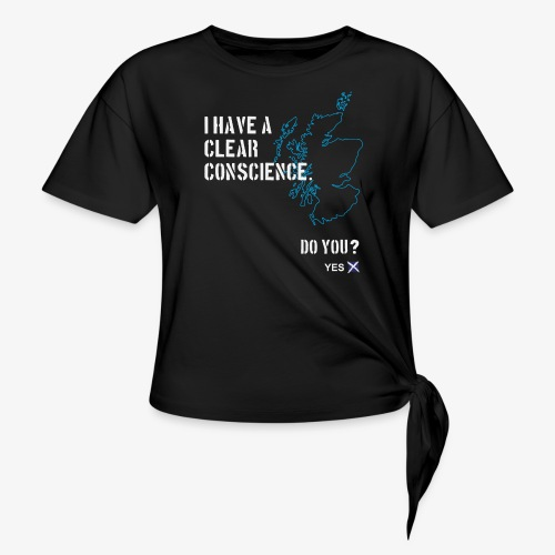 Clear Conscience - Knotted T-Shirt
