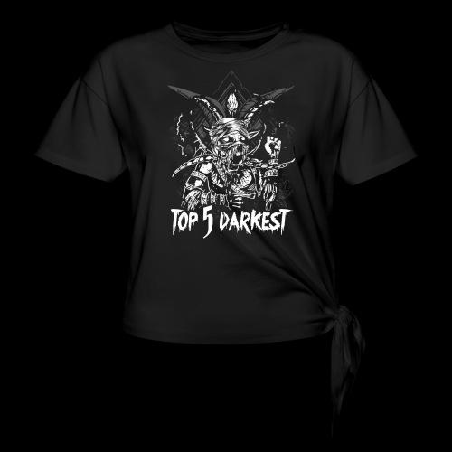 Top 5 Darkest - Women's Knotted T-Shirt