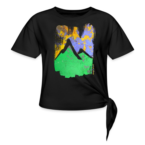 BergAbend - Frauen Knotenshirt