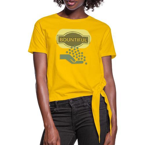 Bountiful - Knotted T-Shirt