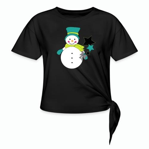 Snowtime-Green - Knotenshirt