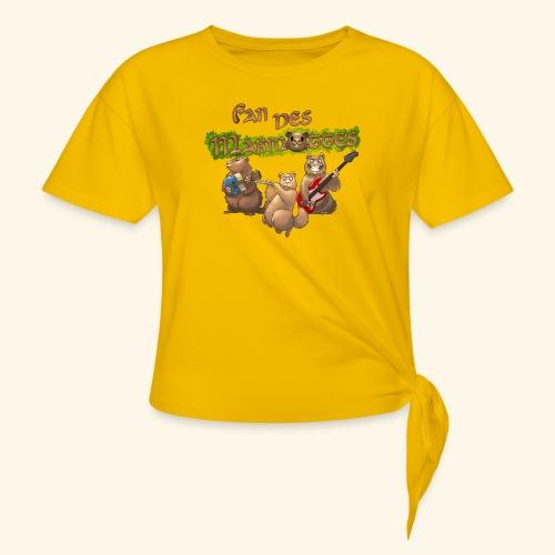 Tshirt fans - T-shirt à nœud