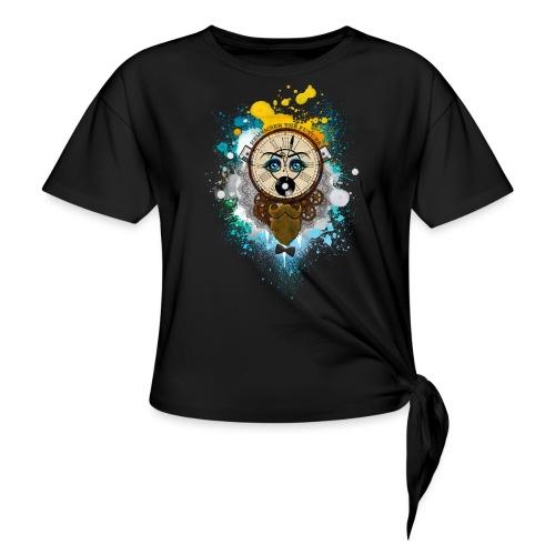 Remember the futur Souviens toi du futur - T-shirt à nœud
