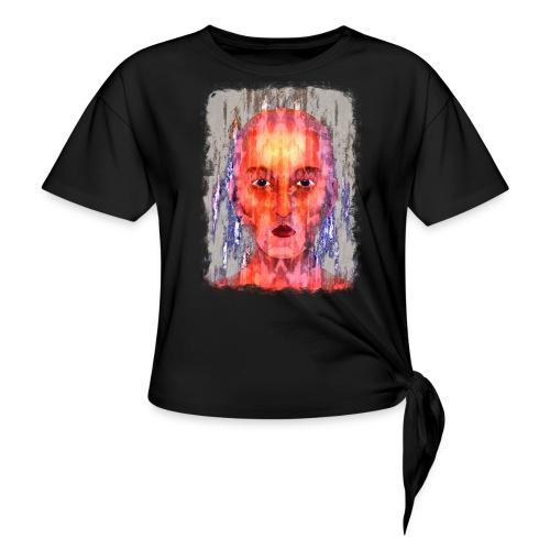 Mystic - Vrouwen Geknoopt shirt