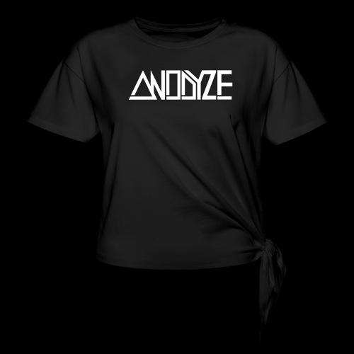 ANODYZE Standard - Frauen Knotenshirt