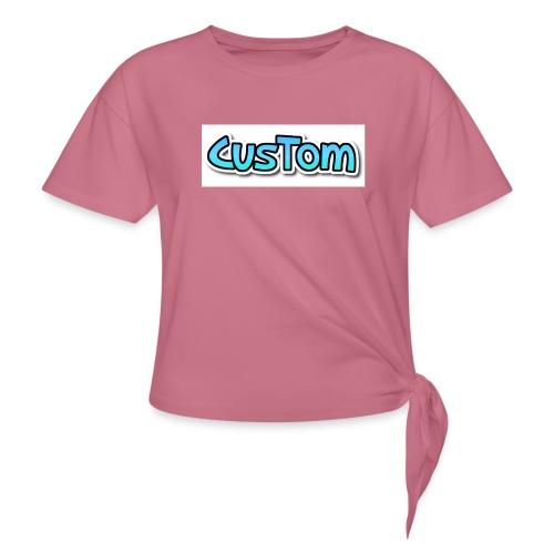 CusTom NORMAL - Vrouwen Geknoopt shirt