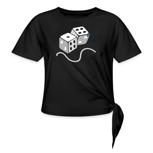 Dice - Symbols of Happiness - Knotted T-Shirt