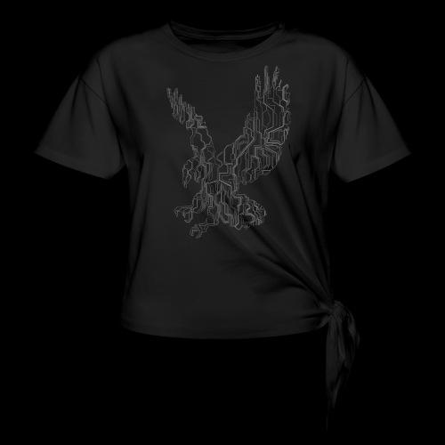 Circuit eagle White - Dame knot-shirt